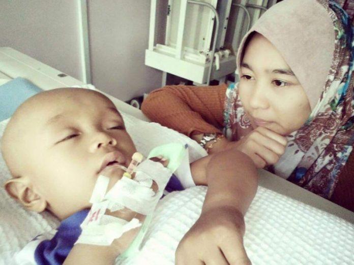 anak kanser Neuroblastoma ibu tetap harap anak sembuh