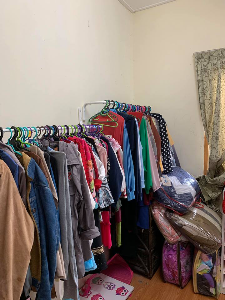 Rumah Ini Cuma Ada 2 Bilik, Janji Anak Bahagia Stor Simpan Baju Berubah Wajah