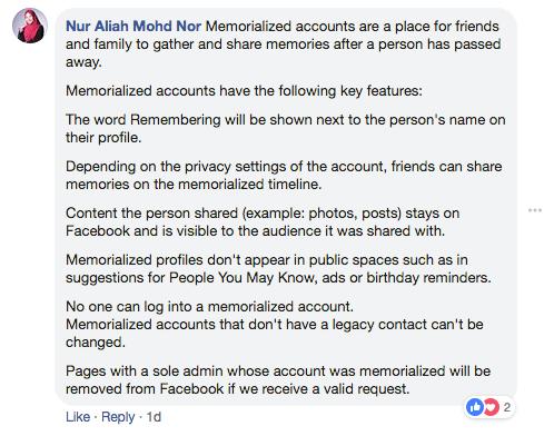 Ini Cara Delete Akaun Facebook, Bila Pemiliknya Dah Meninggal Dunia