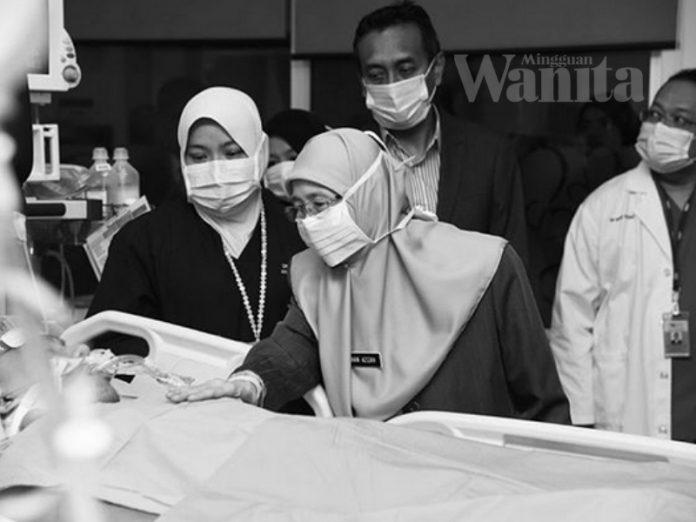 Pemergian Muhammad Adib : Ini Pesan TPM, Dr Wan Azizah