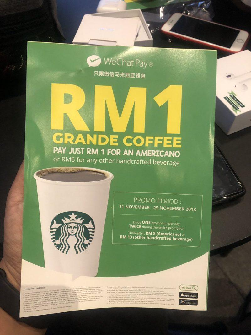 Mudah Rupanya Order Air Starbucks, Guna Cara Ni Boleh Dapat Murah