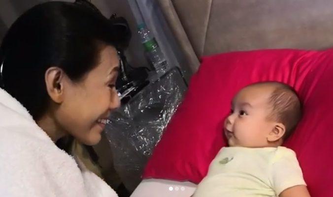 'Jangan Ambil Dia, Bagi Dia Hidup..' Doa Lana Nodin Untuk Anak Kedua