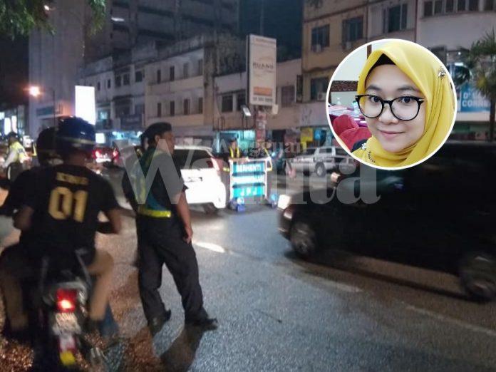 Akak JPJ Kongsi Tip 'Cara Elak Serabut Perut Hadapi Sekatan Jalan Raya