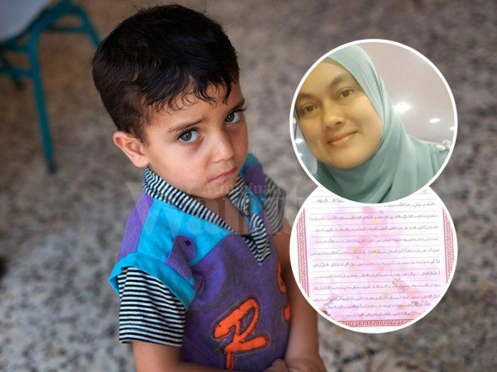 RM170 Mungkin Harga Sehelai Tudung, Tapi Inilah Jumlah Kehidupan Seorang Anak Palestin