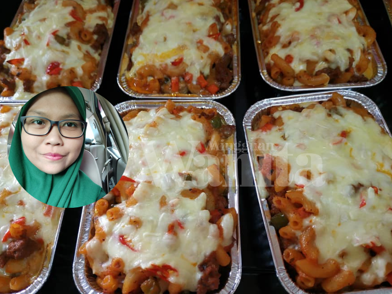 Wanita Ini Tunjuk Cara Buat Baked Macaroni Meatball Sedap
