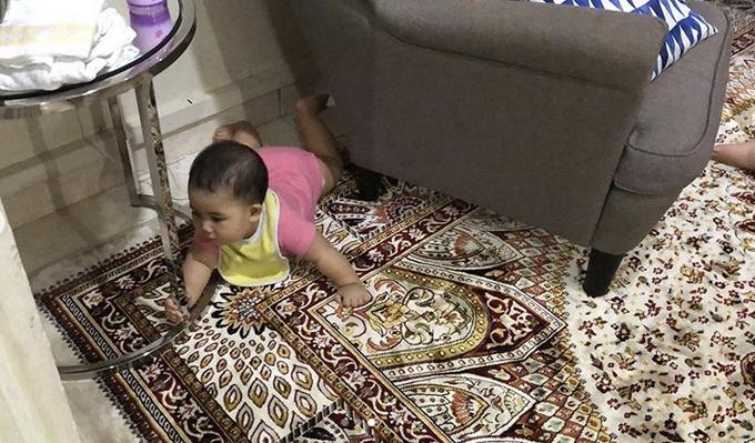 Lucu! Ozlynn Kongsi Realiti Bila Suami Jaga Anak Kecil