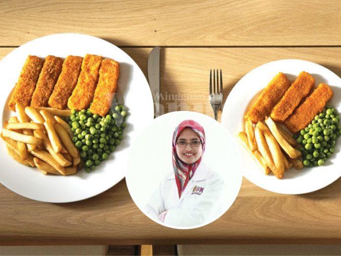 6 Prinsip Turunkan Kalori Sehari Tanpa Berlapar, Pilih Pinggan Diet Pun Kena Betul