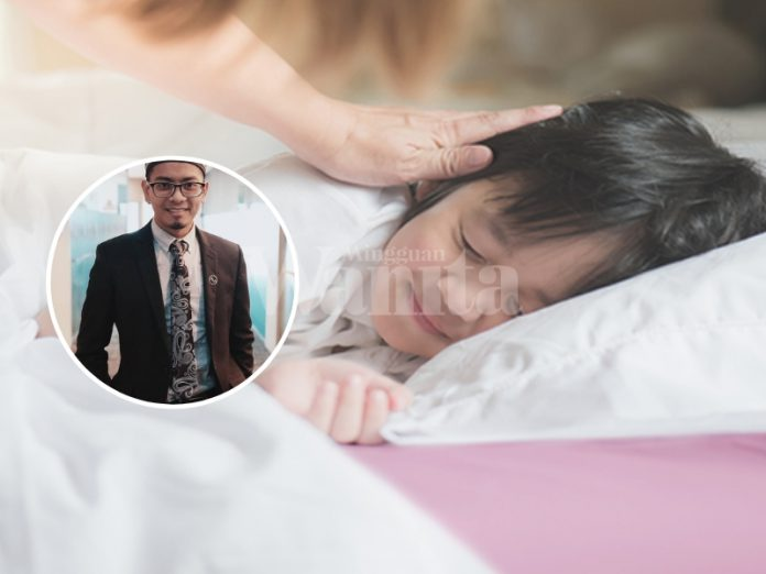 asingkan anak tidur