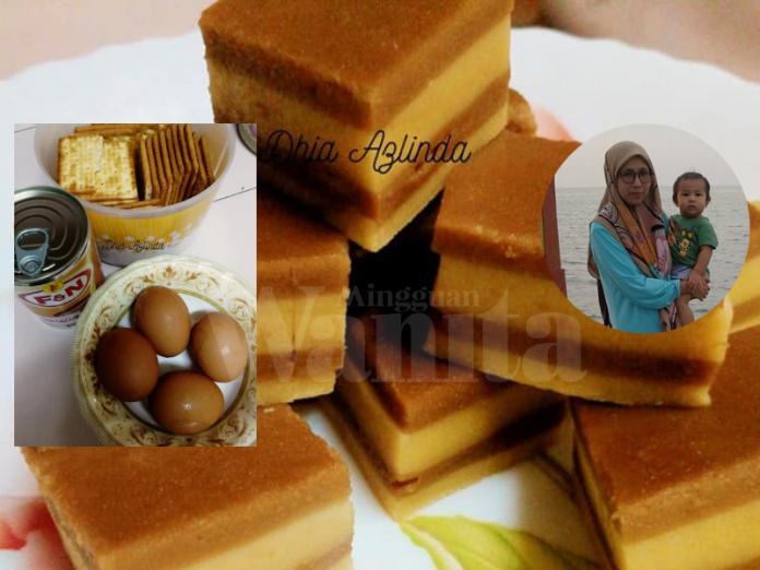 Puding Biskut Cream Crackers