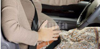 ibu hamil pulang beraya