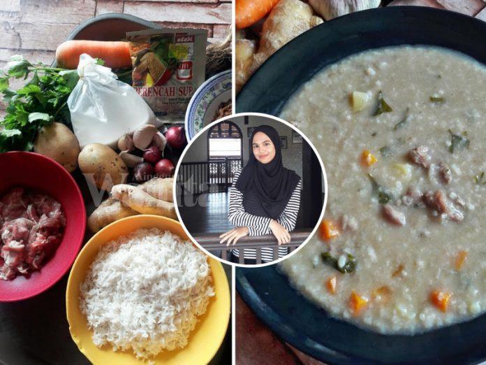 Bubur Lambuk Rice Cooker, Sedapnya Macam Yang Selalu Dapat Di Masjid