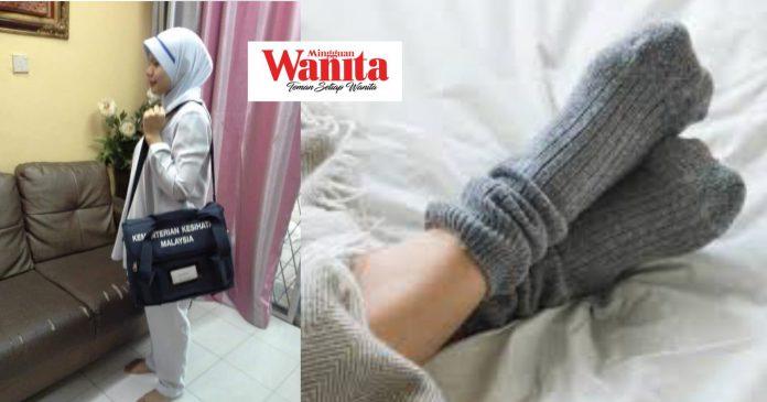 Ada Nampak Yang Negatif Ke, Bila Nurse Datang Rumah Ibu Lepas Bersalin