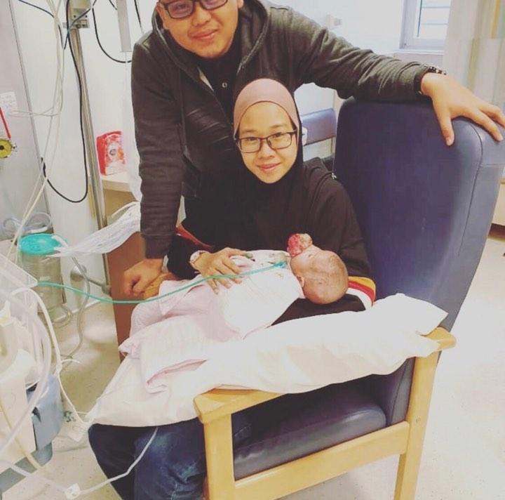 Mama Dan Walid Dah Cium Peluk Ainul Sebelum Doktor Ambil..
