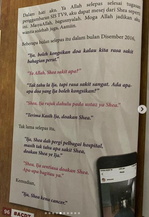 Buku Amalan Shea Rasol, Diketahui Selepas Pemergiannya Di Dunia Ini - Heliza Helmi