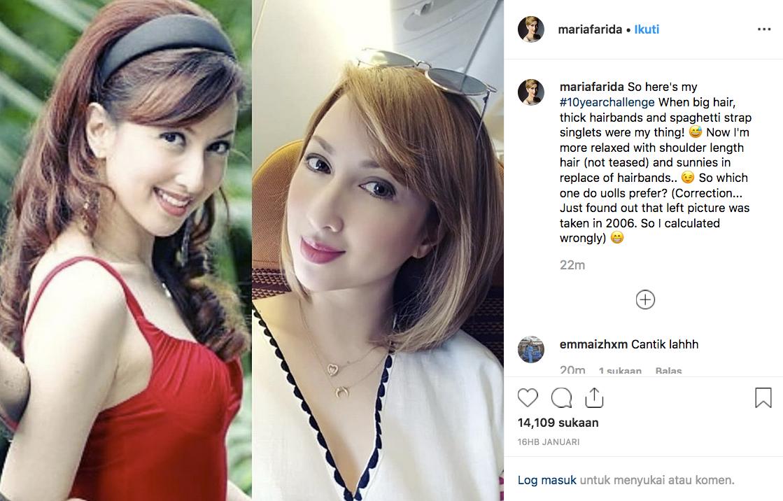 Patutlah Maria Farida Ni Luar Biasa Cantiknya, Ada Mix Rupanya..