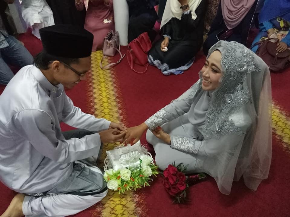 'Aku Terima Suamiku Lillahi Taala..' Isteri Kongsi Kenangan Kahwin Serba Sederhana