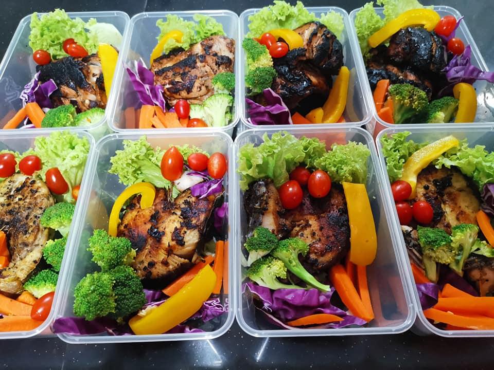 Buat Sendiri Makanan Diet Sihat, Walau Rebus Dan Grill Tetap Sedap