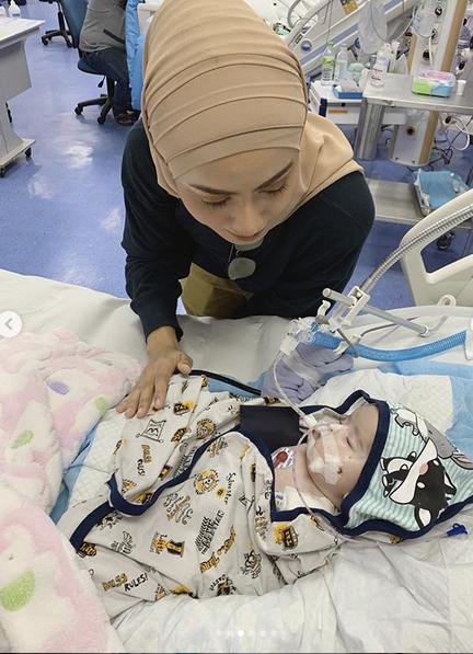 Mawar Karim Rayu Orang Ramai Bantulah Bayi Nishka, Derita Barah Otak