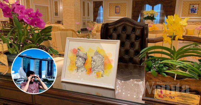 'Alhamdulillah, Karya Teme Dah Sampai Istana Negara..' Luahan Jujur Pelukis Jalanan