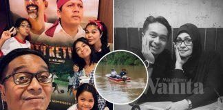 Isteri Mohon Doakan Pitt Hanif Selamat, Anak Fauziah Nawi Hilang Ketika Memancing