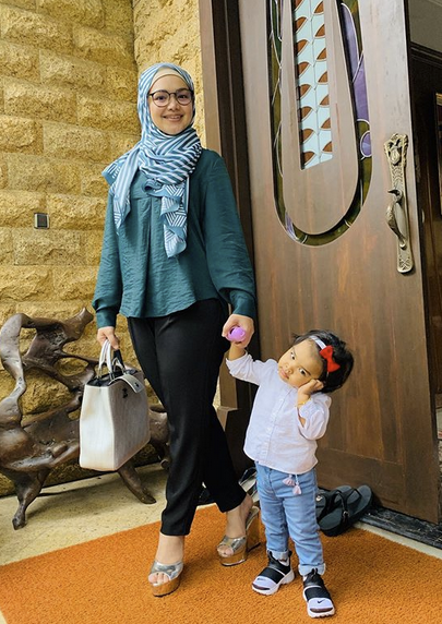 Sebab Batuk, Tiga Hari Siti Nurhaliza Tidur Asing Dengan Aafiyah