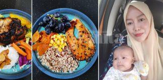 Menu Berpantang Ibu Ini, Turunkan Berat 11KG Tanpa Makan Pil Jamu