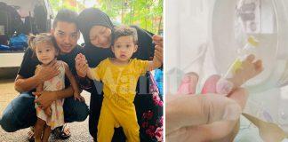 Hari-hari Ke NICU Beri Sentuhan Pada Baby Danial, Syukur Beratnya Naik