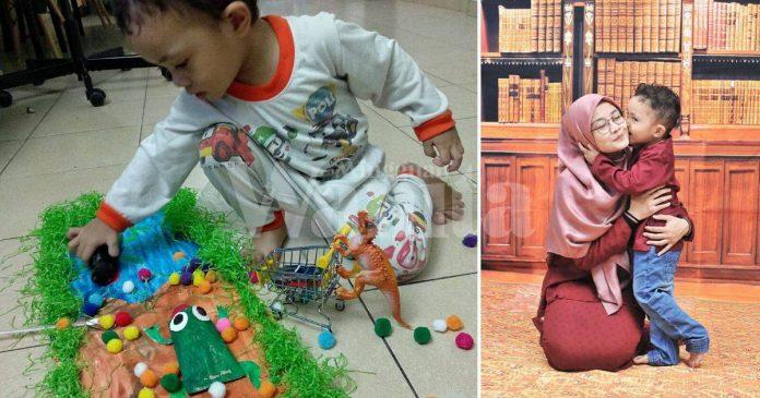 Punyalah MakAyah Cari Duit Beri Makan Anak, Rupanya Anak Lapar Perhatian