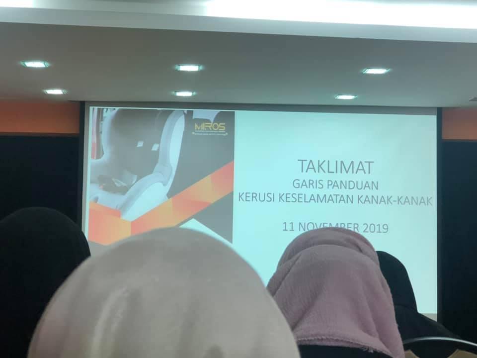 Wanita Ini Kongsi Info, Garis Panduan Pemasangan Car Seat Januari 2020