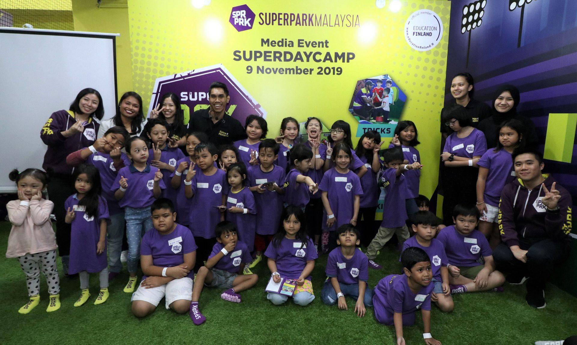 Bermain Cara Selamat Bak Anak-anak Finland Di SuperDay Camp, SuperPark Malaysia