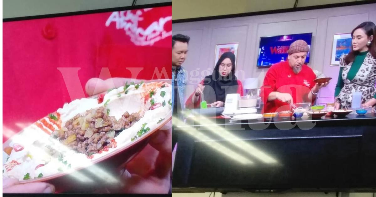 Istimewa Masakan Timur Tengah, Chef Ammar Kongsi Resipi Hummus Kambing Goreng