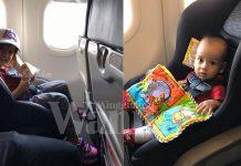 Ibu Ini Kongsi Tip Bawa Carseat Naik Flight Nak Pergi Bercuti . Selamat & Selesa!