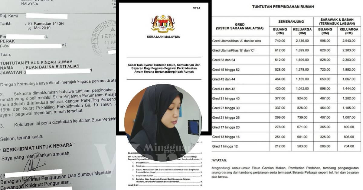 Penjawat Awam Boleh Tuntut Elaun Pindah Rumah Antara Blok Kuarters Mingguan Wanita