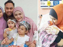 Selepas 13 Hari 'Overdue', Yatt Hamzah Akhirnya Timang Bayi Perempuan