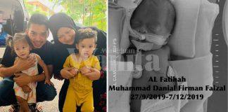 'Maafkan Mama Abah Sayang..' Bayi Pramatang Abby Abadi Meninggal Dunia