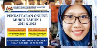 Bermula Mac Ini, Jangan Lupa Daftar Anak Darjah 1 Secara Online
