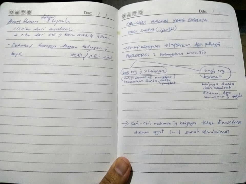 Simpan Buku Dalam FREEZER, Timbulkan Tulisan Hilang Guna Pen Dakwat Basah