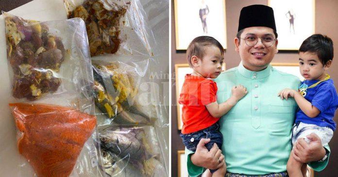 Lelaki Ini Siapkan Pek Makanan Berpantang Mudah, Bantu Rakan Alami Keguguran