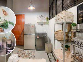Susun Atur Backyard Kitchen Ini, Mudahkan Ibu Sakit Capai Semasa Memasak