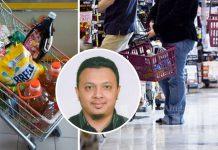 Sudahlah Tengking Isteri Dalam Pasaraya, Tinggalkan Kaunter Tak Bagi Duit Belanja