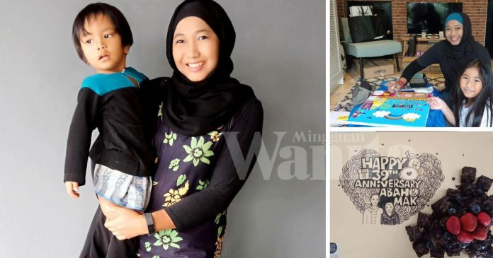 Azreen Ajar Seni & Terima Tempahan Brownies Demi Kelangsungan Hidup