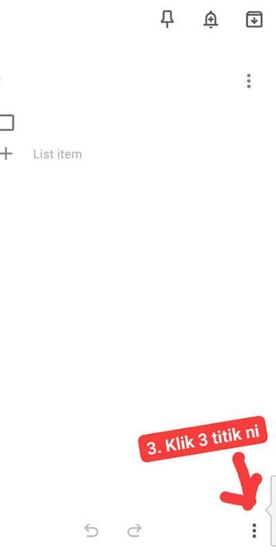 Google Notes Mudahkan Shopping Suami Masa PKP, Terasa Macam Isteri Teman Sebelah