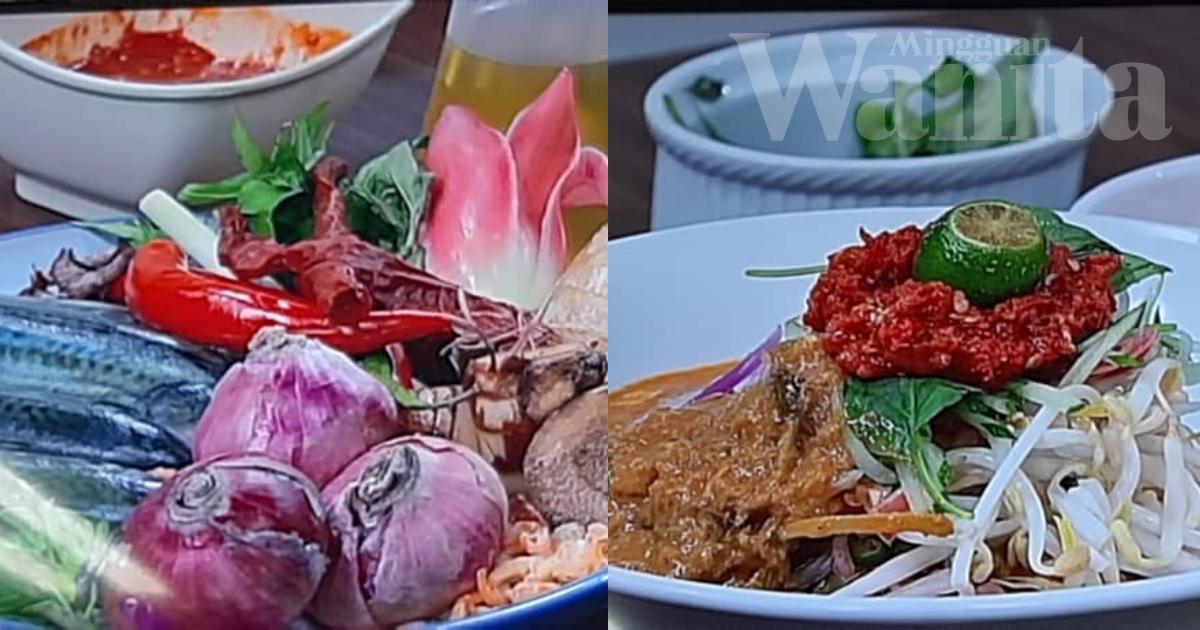 Penggemar Laksa Boleh Cuba Resipi Laksa Aglio Olio Dan Laksa Johor Chef Nakhlee