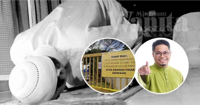 'Lantaklah Orang Lain Sakit, Yang Penting Aku Boleh Solat Di Masjid'