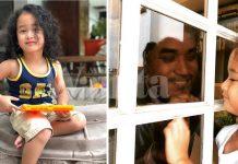 Keluar Bekerja, KJ Kuarantin Sendiri, Jumpa Anak Dan Keluarga Di Balik Tingkap