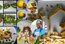 Lali Dikecam, Lelaki Ini Dah Hasilkan Lebih 400 Idea Deko Makanan