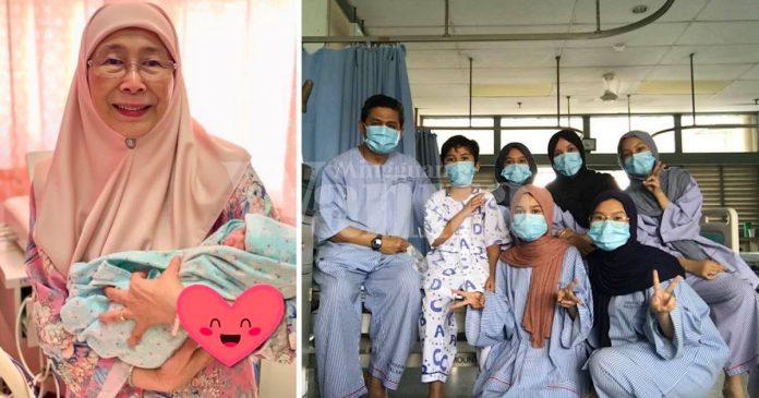 Dr Wan Azizah Doakan Doktor Tujuh Sekeluarga Segera Pulih Dari Covid-19