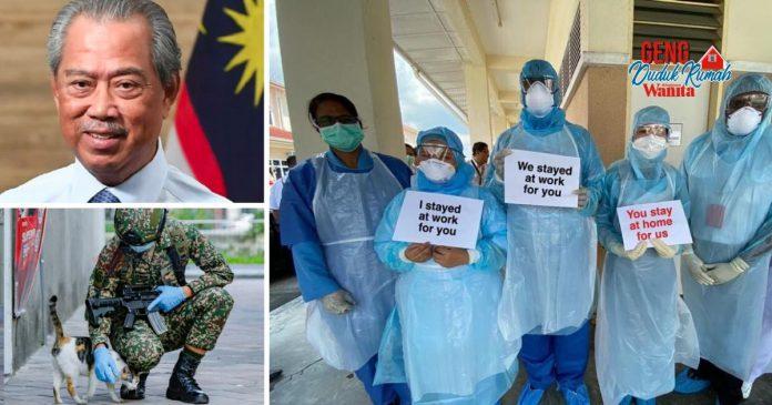 Bersyukurlah, Malaysia Masih Ada Pemimpin, Barisan Hadapan Yang Menjaga Kita