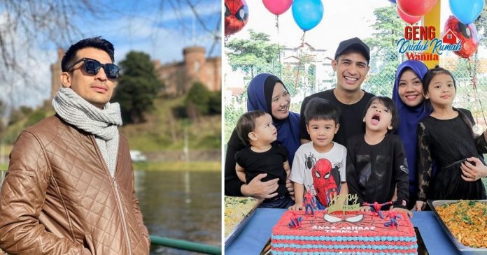 'Doakan Ayah Sungguh-sungguh.. Rindu Sangat' Ashraf Muslim Diuji Positif Covid-19