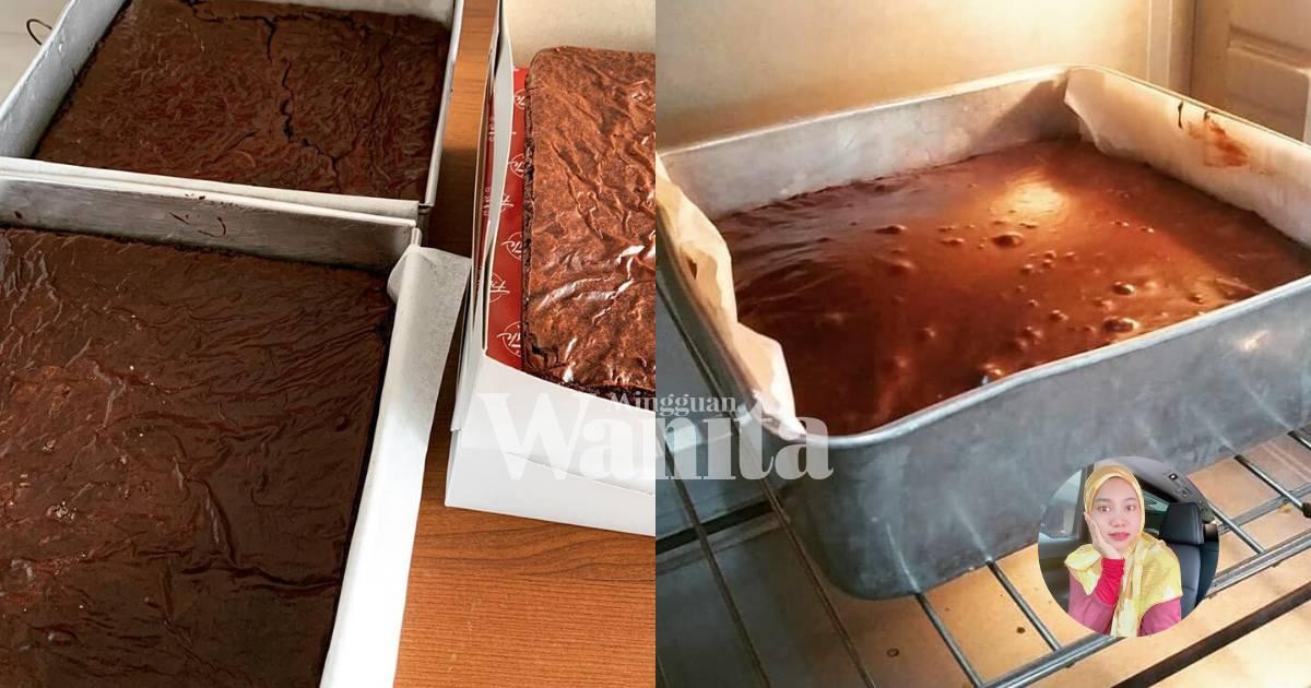 kek brownies kukus sukatan cawan resepi brownies kedut penuh rasa coklat  mudah youtube Resepi Brownies Guna Minyak Enak dan Mudah
